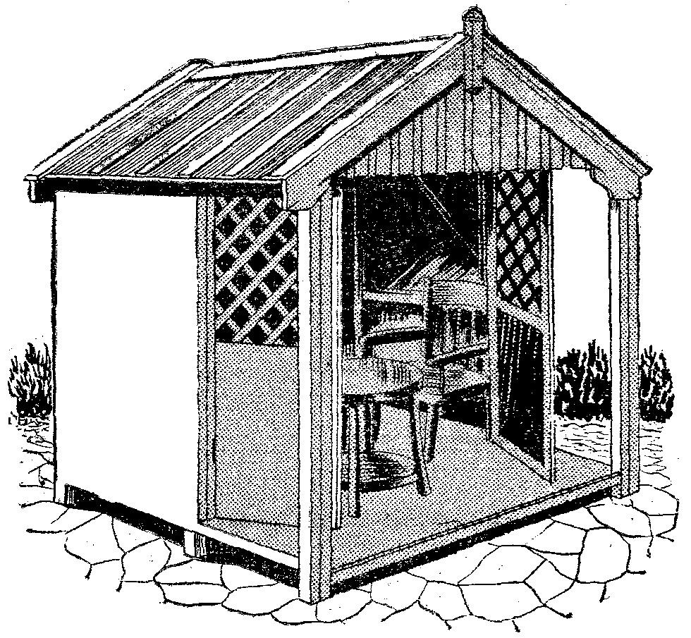 Casitas de madera casetas de madera para jardin como for Casetas de resina para jardin