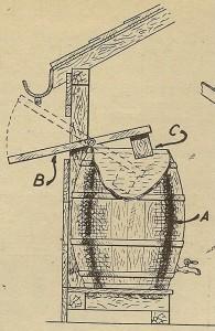 dispositivo para recoger agua de lluvia