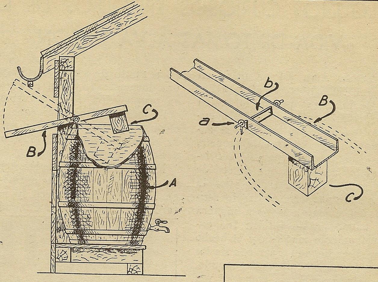 Como hacer dispositivo para recoger agua de lluvia como - Recoger agua lluvia ...