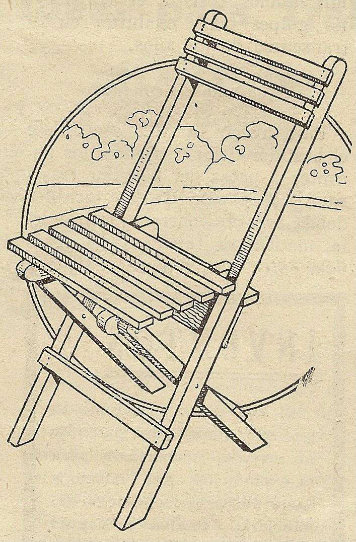 Como hacer una silla de madera plegable paso a paso como - Como hacer cocinita de madera ...