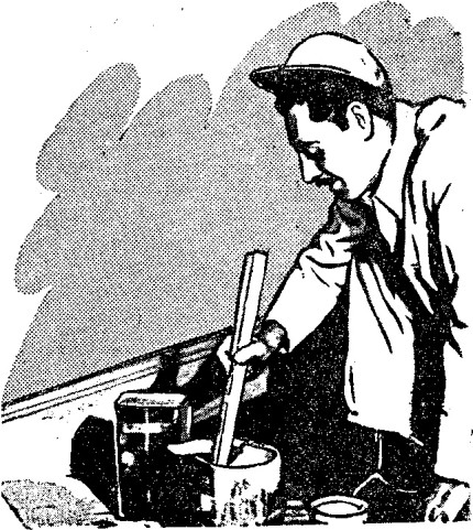 como hacer pintura - aceite secante