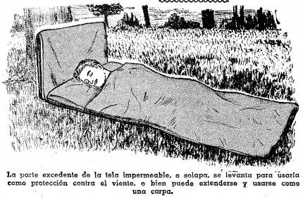 como hacer una bolsa de dormir