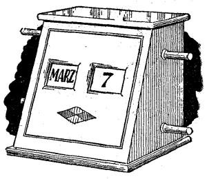 como hacer un calendario perpetuo y personalizado
