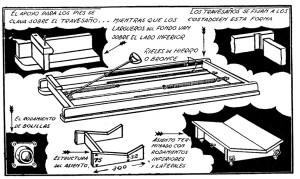 como hacer una maquina de remo estatica 2