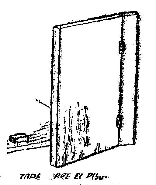 Como colocar una puerta colocacion de puertas como for Como hacer una puerta de metal