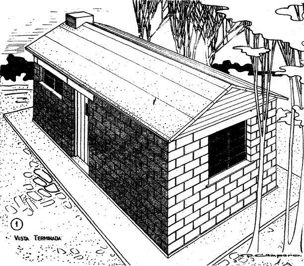 Como construir una casa econ mica con bloques de hormig n for Come costruire una casa economica per conto proprio