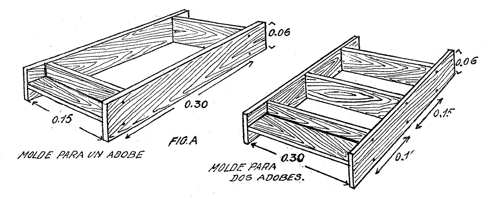 Como hacer ladrillos de adobe o barro ecologicos como - Como hacer tabiques ...