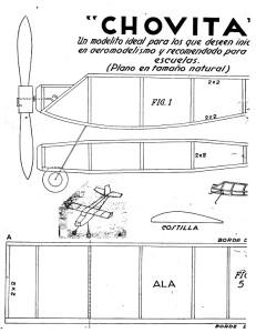 Como hacer - MODELO de avion - CHOVITA 1