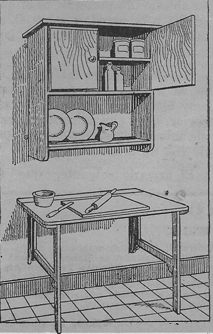 Como hacer muebles de madera para la cocina, la madera terciada