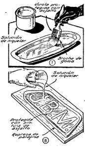 Como hacer NIQUELADO DECORATIVO por inmersión 4