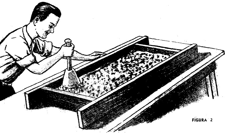 Como hacer piedra artificial marmol 1 de 2 como for Piedras artificiales para jardin