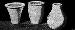 Como hacer VASOS DE YESO con moldes – cerámica y artesania