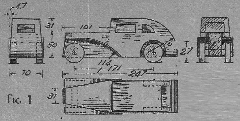 Como hacer un carro de madera o carrito de madera como for Como hacer planos gratis