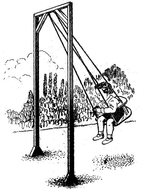Como hacer un columpio de madera casero para ni os como - Hacer un columpio ...