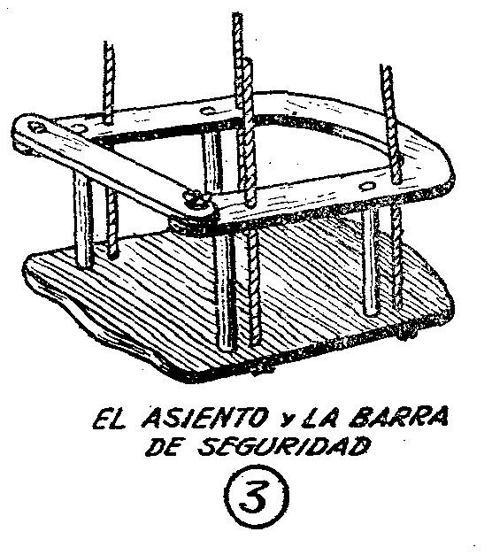 como hacer un columpio de madera casero para nios