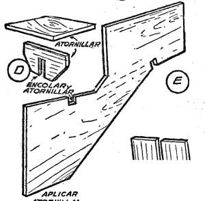 Como hacer un escritorio de madera de uso escolar como for Como fabricar un kiosco de madera