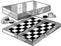 Como hacer un JUEGO DE MESA - tablero de DAMAS 1