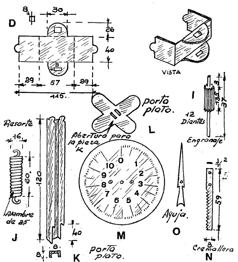 Como hacer una balanza o bascula tipo reloj como hacer for Como construir pileta de material