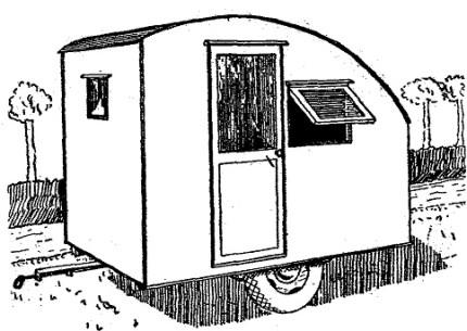 Como hacer una casa rodante o casa remolque 1 de 4 como for Como construir una casa