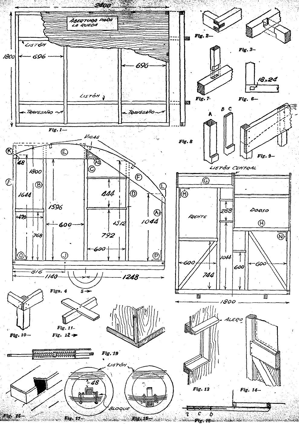 Como hacer una casa rodante o casa remolque 4 de 4 como - Como construir tu casa ...