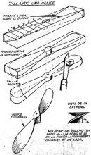 Como hacer una HELICE - aeromodelismo