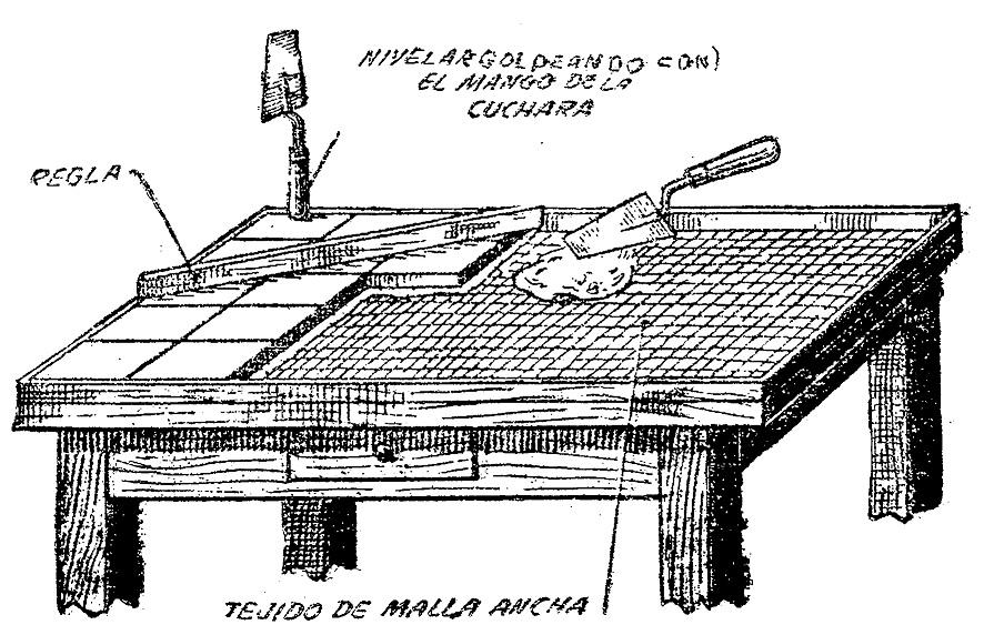 Mesas de azulejos dise os arquitect nicos - Como construir una mesa ...