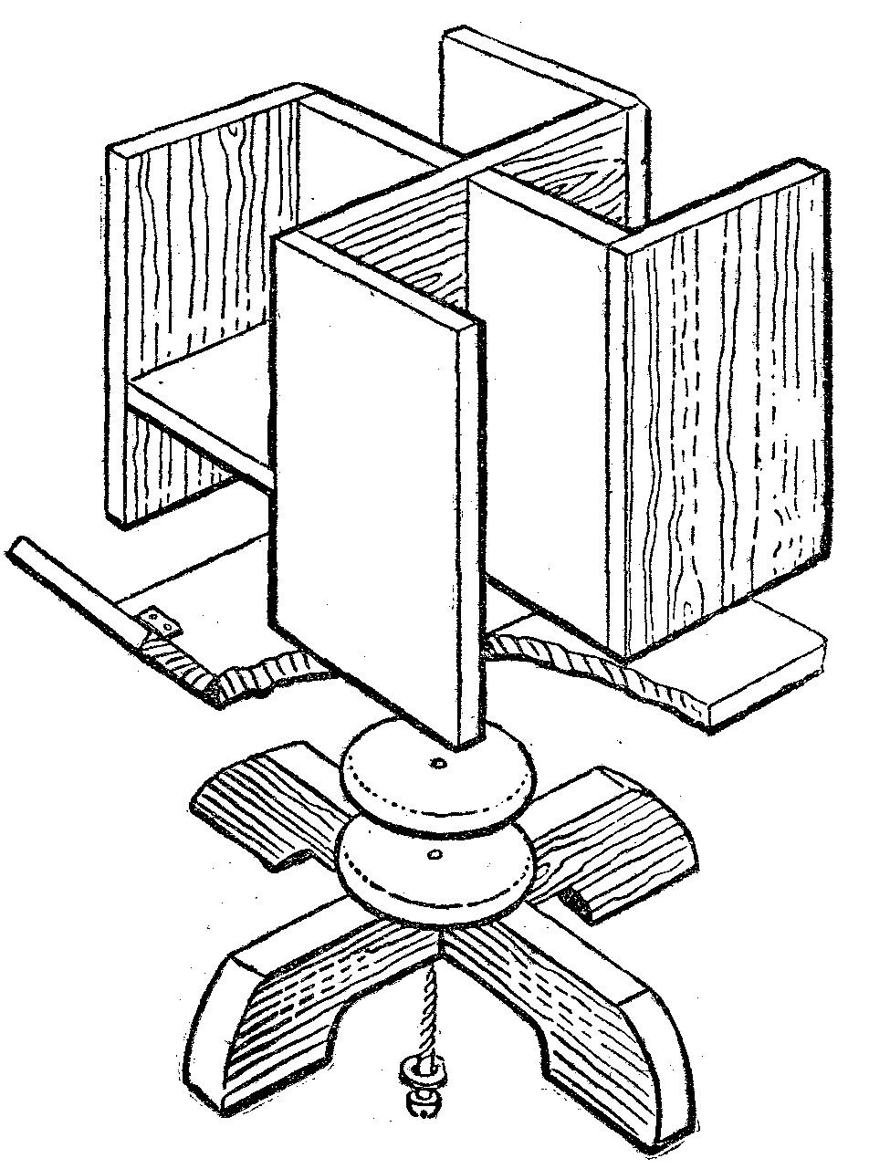 Parasoles o parrillas de madera for Como hacer una sombrilla para jardin