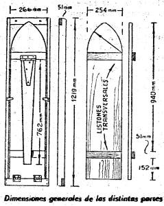 Medidas de una tabla de planchar