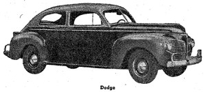 Carros antiguos - Historia de los CARROS ANTIGUOS - 1941 Dodge