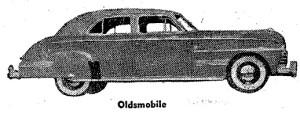 Carros antiguos - Historia de los CARROS ANTIGUOS - 1941 Oldsmobile