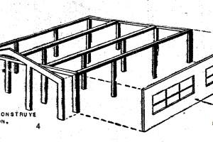 Modelismo ferroviario - Galpon para las LOCOMOTORAS