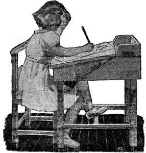 Pupitres escolares - Como hacer un PUPITRE infantil