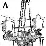 Como hacer una LAMPARA DE TECHO O ARAÑA ELECTRICA