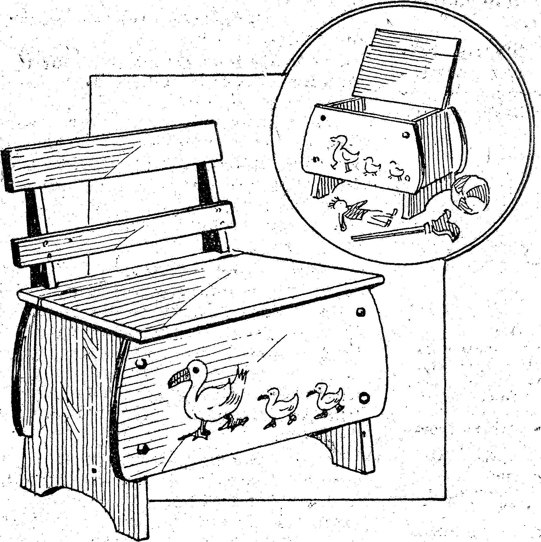 Como hacer un mueble para ni os asiento y cajon como for Manual para hacer muebles
