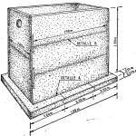 Pozo septico o camara septica, como hacer uno de hormigón