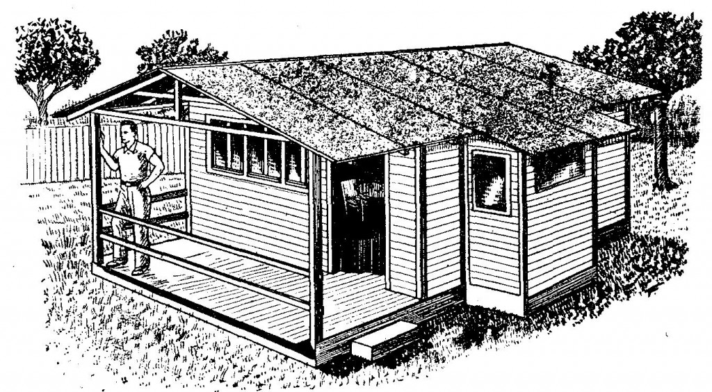 hacer una casa de madera desarmable planos casas como pictures
