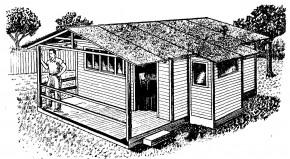 casa-cabaña