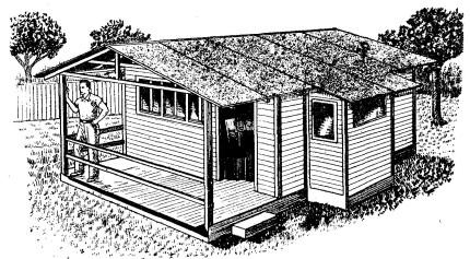 Como hacer una casa de madera desarmable como hacer for Como construir una casa de campo
