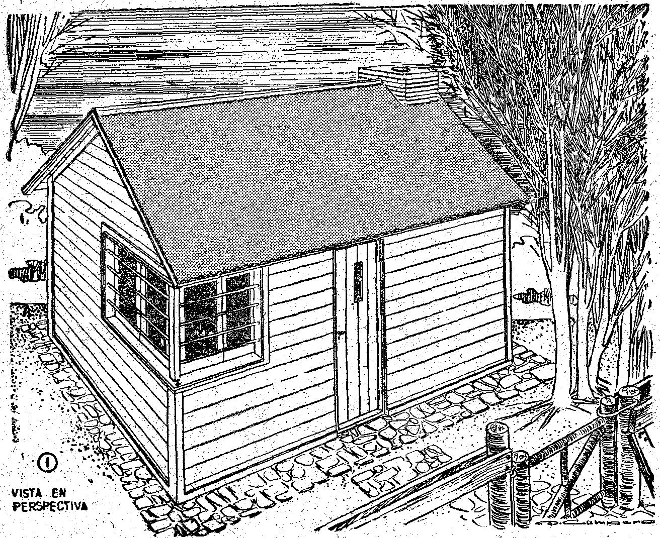 Como construir una casa de madera peque a y ampliable como hacer instrucciones y planos gratis - Como construir una casa de madera ...