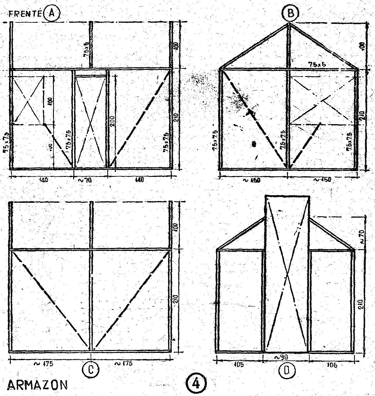Como construir una casa de madera peque a y ampliable - Como hacer una casa de madera para ninos ...