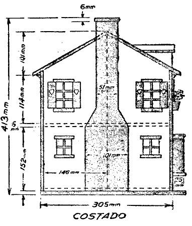 Como hacer una casa de mu ecas desplegable como hacer for Planos de casas para construir gratis