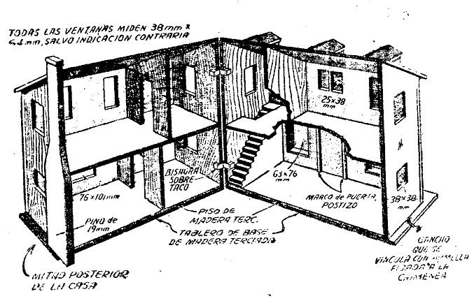 Como hacer una casa de mu ecas desplegable como hacer for Como se construye una casa