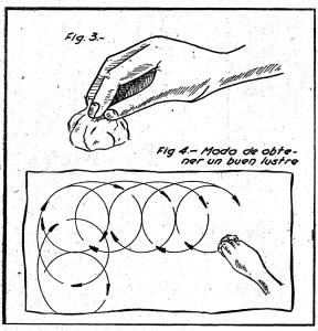 como hacer una cera para lustrar