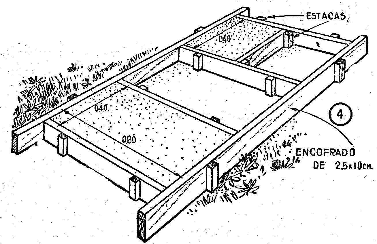 Como hacer adoquines o lajas de hormigon para caminos y - Como hacer un piso de hormigon lustrado ...