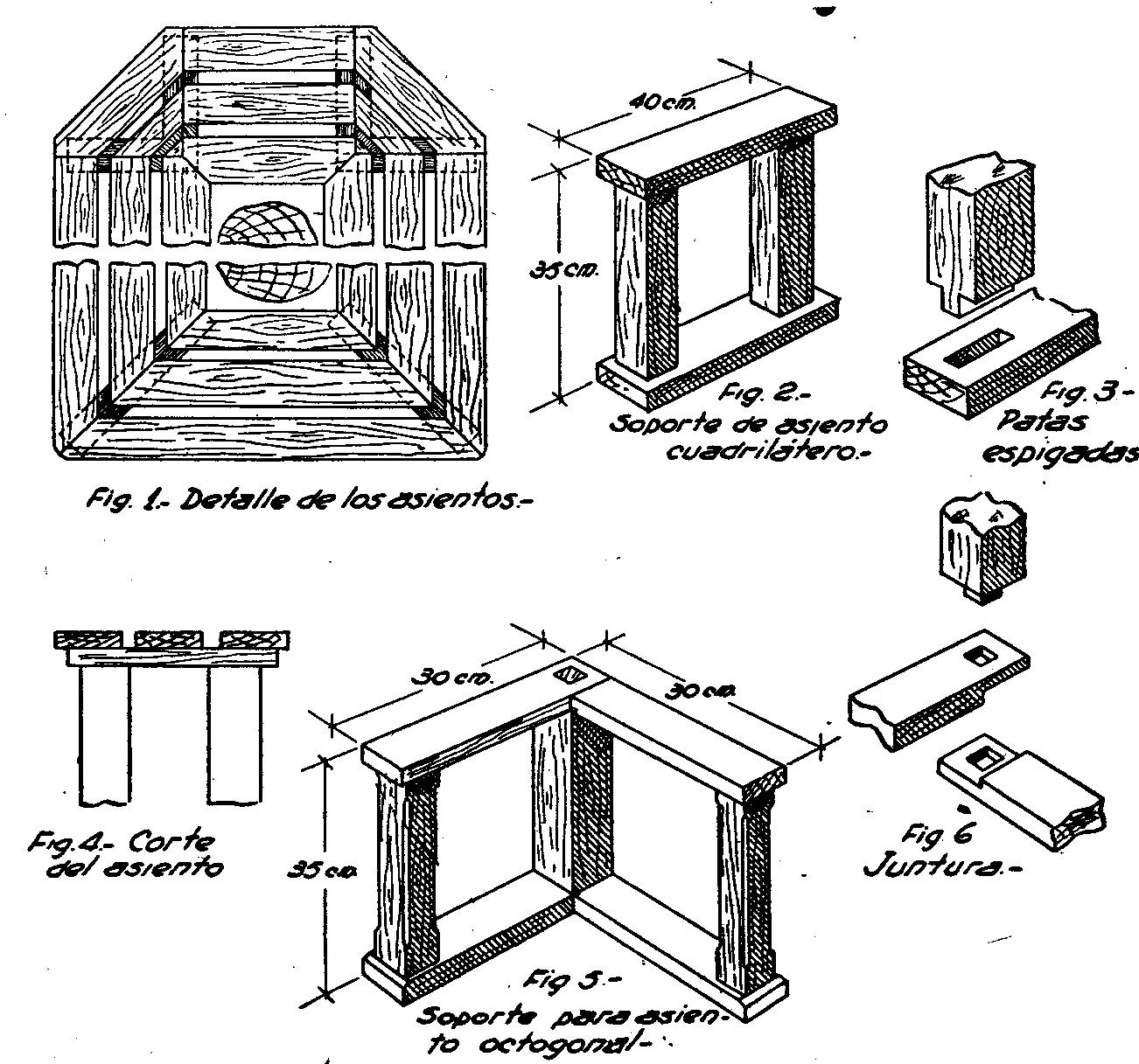Como hacer asiento para jardin 2 como hacer for Como hacer muebles en madera