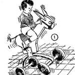 Como hacer juguetes de madera: BURRITO CORCOVEADOR