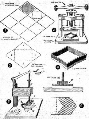 como hacer sobres de papel