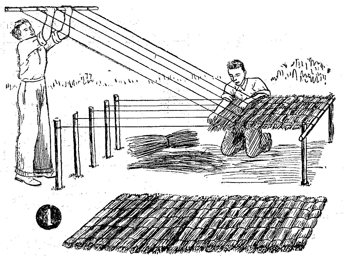 Techos de paja techos de quinchos como hacer techos for Como encielar un techo