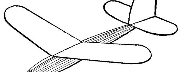 como hacer un avion planeador 1