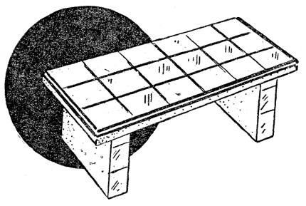 Como hacer un banco de concreto como hacer for Como se hace una piscina de cemento